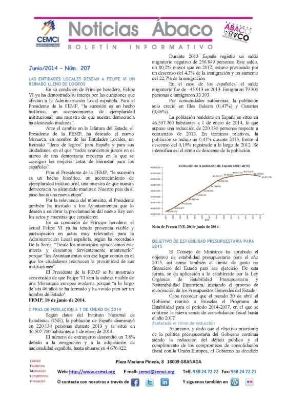 NOTICIAS ABACO Junio 2014 nº 207_Página_1