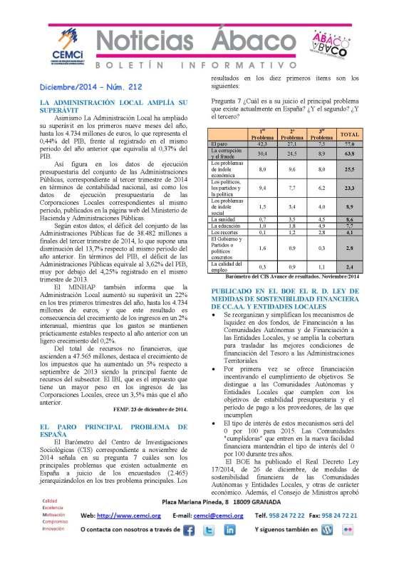 NOTICIAS ABACO Diciembre 2014. Nº 212_Página_1