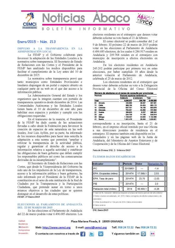 NOTICIAS ABACO Enero 2015 nº 213_Página_1